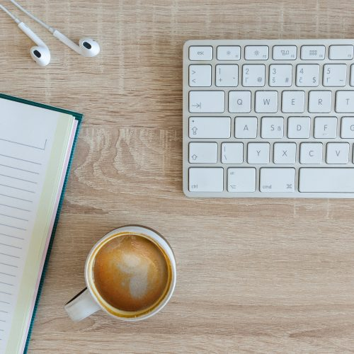 clavier café