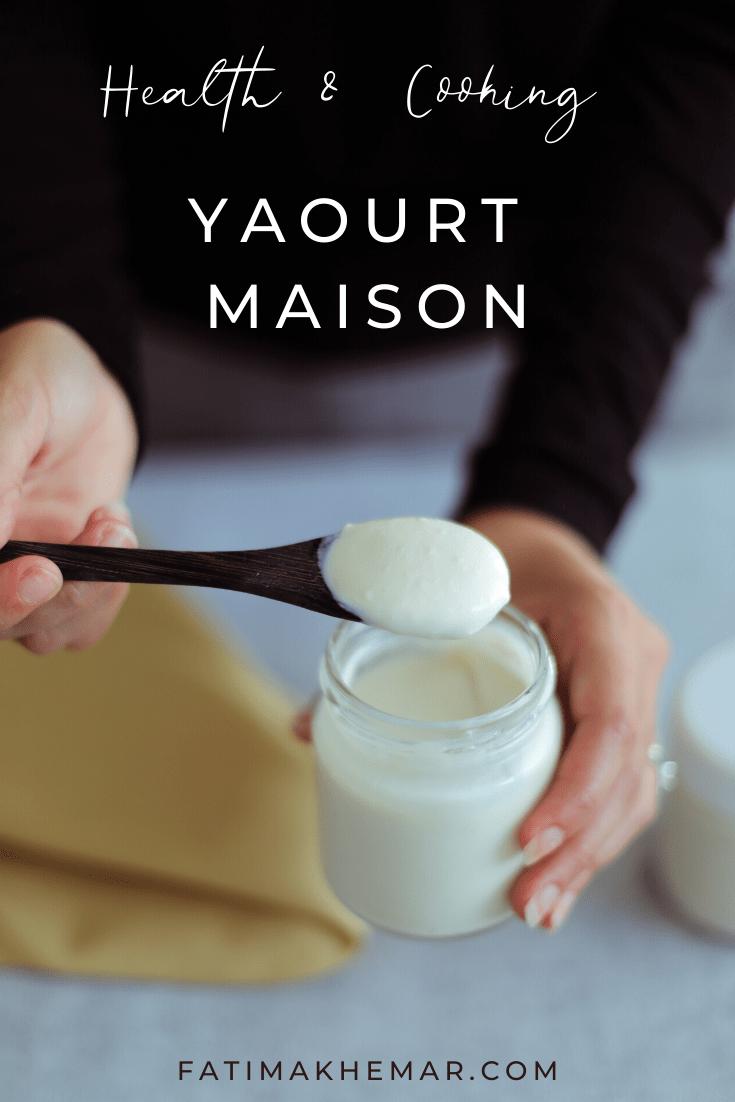Ma recette de yaourt végétal
