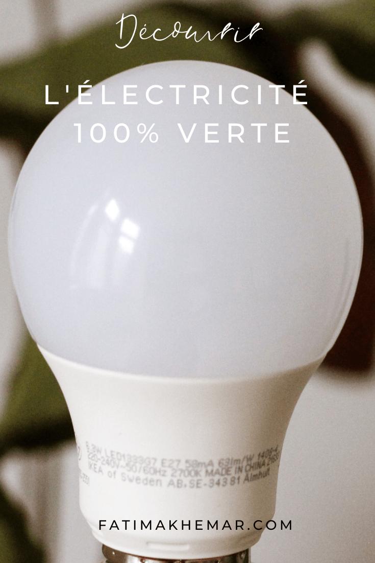 Découvrez l'électricité 100% verte avec Enercoop !
