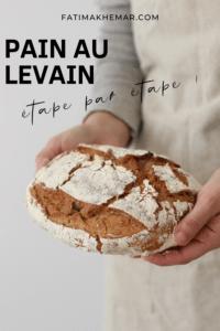 Pain au levain (farine de blé & seigle ou épeautre)