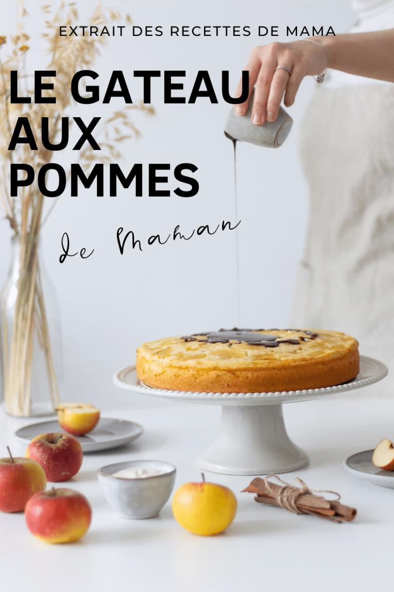 Gâteau aux pommes de maman
